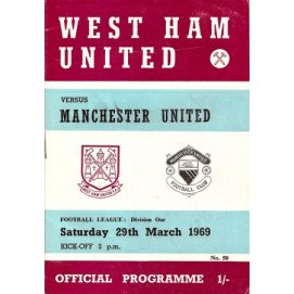 West Ham United<br>29/03/69