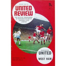 West Ham United<br>27/09/69