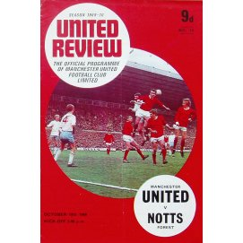 Nottingham Forest<br>18/10/69