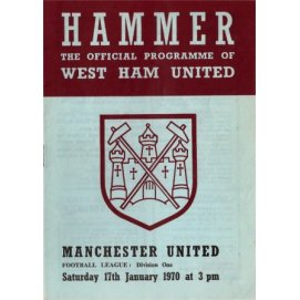 West Ham United<br>17/01/70