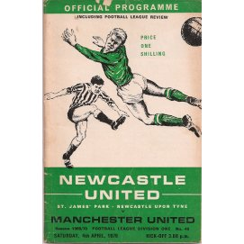 Newcastle United<br>04/04/70