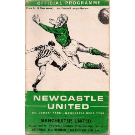 Newcastle United<br>31/10/70