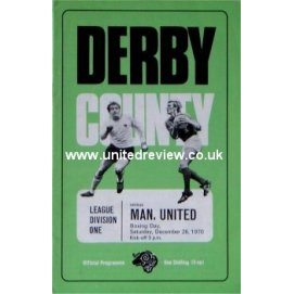 Derby County<br>26/12/70
