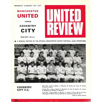 Coventry City<br>09/08/71