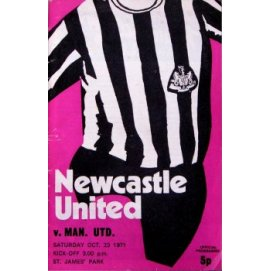 Newcastle United<br>23/10/71