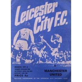 Leicester City<br>08/04/72