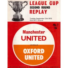 Oxford United<br>12/09/72