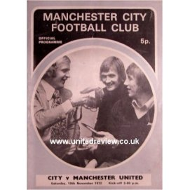 Manchester City<br>18/11/72