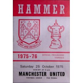 West Ham United<br>25/10/75