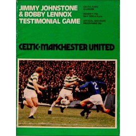 Jimmy Johnstone<br>Glasgow Celtic<br>17/05/76