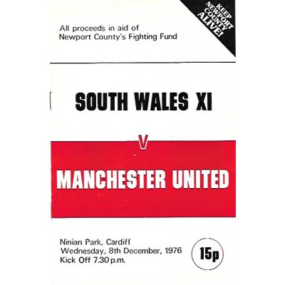 South Wales XI<br>08/12/76