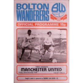Bolton Wanderers<br>22/12/78