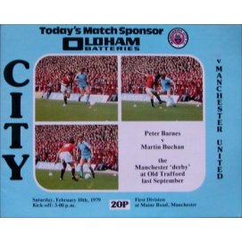 Manchester City<br>10/02/79