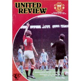 Coventry City<br>27/08/80