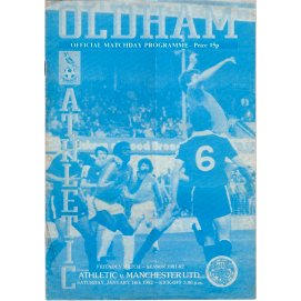 Oldham Athletic<br>16/01/82