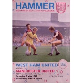 West Ham United<br>08/05/82
