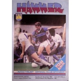 West Ham United<br>27/11/83