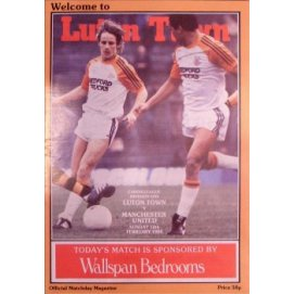 Luton Town<br>12/02/84
