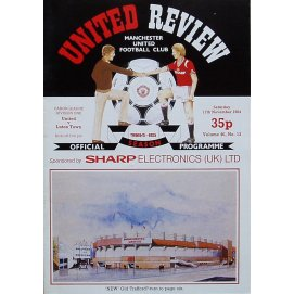 Luton Town<br>17/11/84