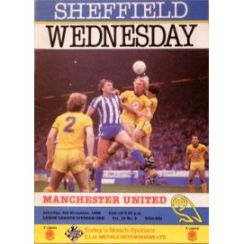 Sheffield Wednesday<br>09/11/85