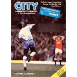 Manchester City<br>26/10/86