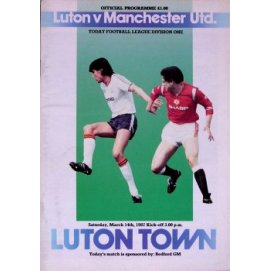 Luton Town<br>14/03/87