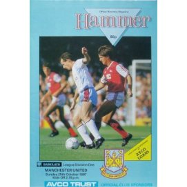 West Ham United<br>24/10/87