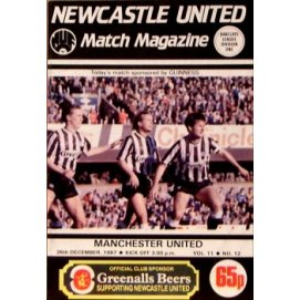 Newcastle United<br>26/12/87