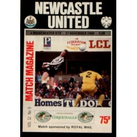 Newcastle United<br>27/11/88