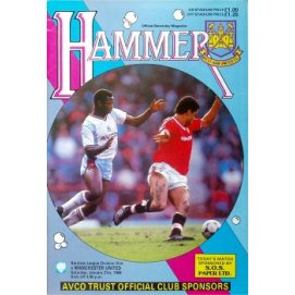 West Ham United<br>21/01/89
