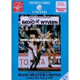 Hereford United<br>28/01/90