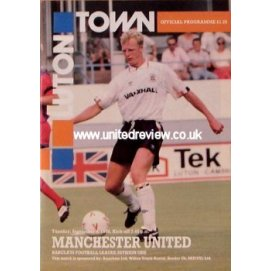 Luton Town<br>04/09/90