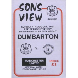 Alex Wright<br>Dumbarton<br>04/08/91