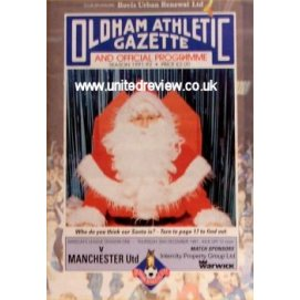 Oldham Athletic<br>26/12/91