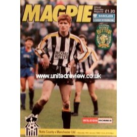 Notts County<br>18/01/92