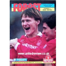 Nottingham Forest<br>18/03/92