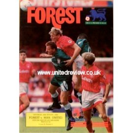 Nottingham Forest<br>29/08/92
