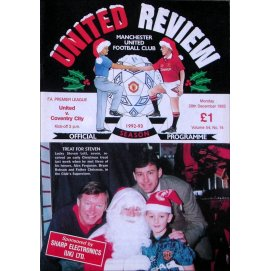 Coventry City<br>28/12/92