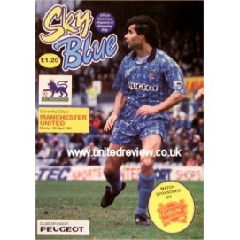 Coventry City<br>12/04/93