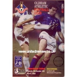 Oldham Athletic<br>29/12/93