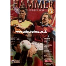 West Ham United<br>11/03/98