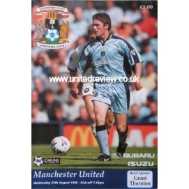 Coventry City<br>25/08/99