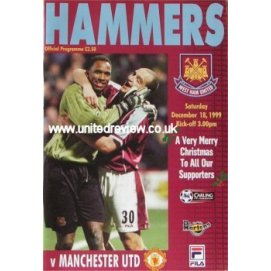 West Ham United<br>18/12/99