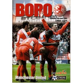 Middlesbrough<br>28/04/01