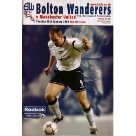 Bolton Wanderers<br>29/01/02