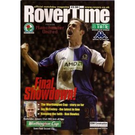 Blackburn Rovers<br>22/01/03