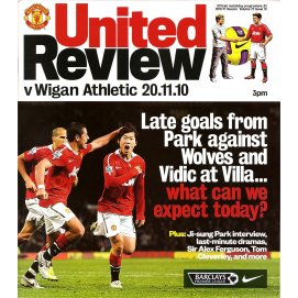 Wigan Athletic<br>20/11/10