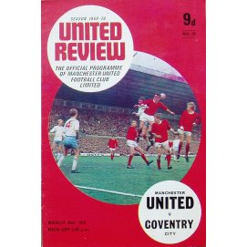 Coventry City<br>30/03/70