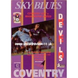Coventry City<br>22/11/95